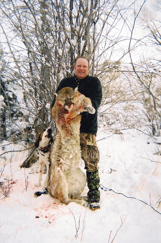 Mountain Lion Hunts with Grand Slam Outfitters